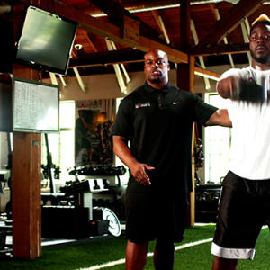 Training with the Pros: Lamarr Houston