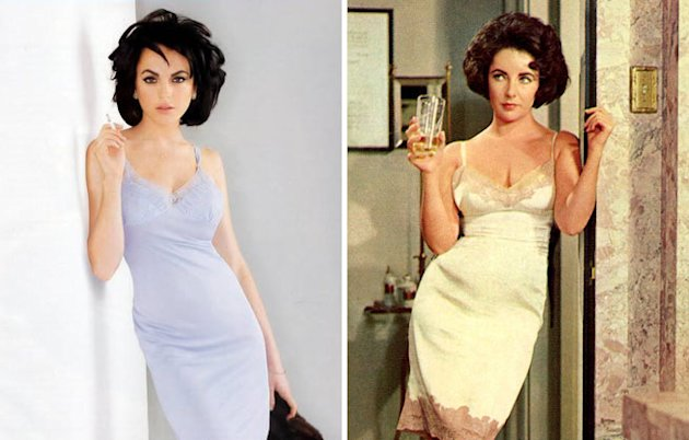 Lindsay Lohan Proves She Can Play Elizabeth Taylor In TV Biopic 'Liz and Dick' Thanks To Old Photoshoot