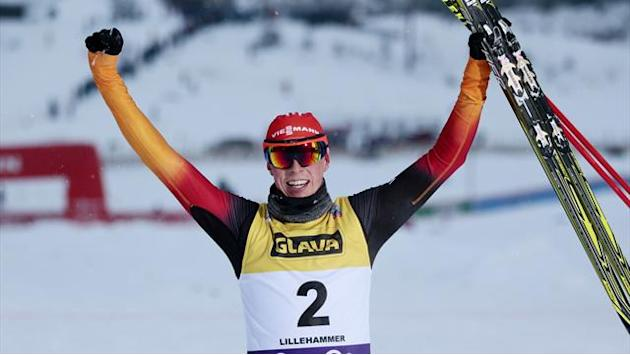 Nordic Combined - Frenzel storms back to second World Cup win