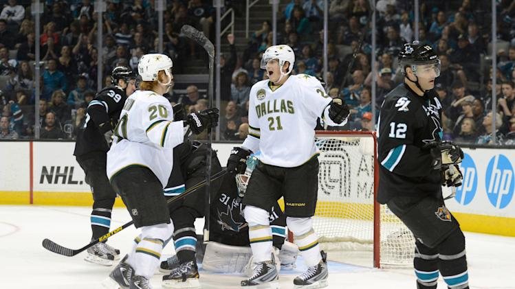 NHL: Dallas Stars at San Jose Sharks