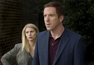 Claire Danes and Damien Lewis in &#39;Homeland&#39; -- Showtime