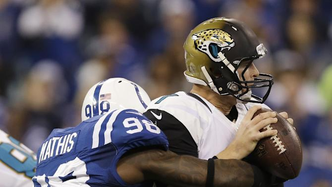 Colts try to tamp down pressure for Chiefs game