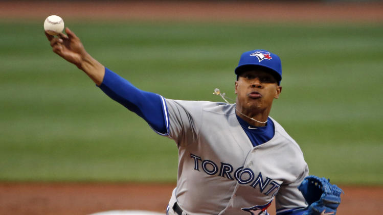 Stroman again stifles Boston in Jays' 4-2 win