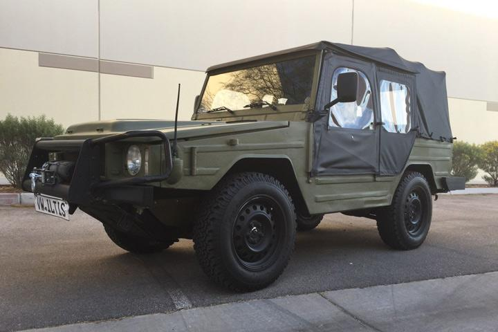 Protect the Cul-de-sac With This Military Volkswagen