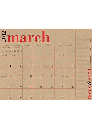 Great Big Wall Calendar