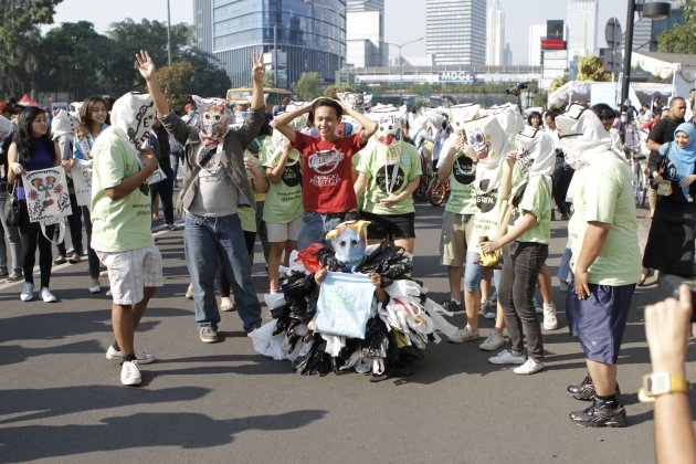Headbag Mob Greeneration Indonesia