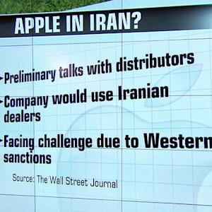 Apple in preliminary talks to sell smartphones in Iran