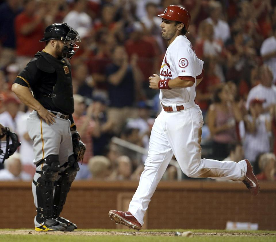 Kelly beats Pirates again, Cardinals win 12-8