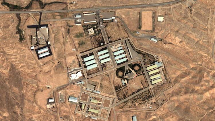FILE - In this Friday, Aug. 13, 2004 satellite image provided by DigitalGlobe and the Institute for Science and International Security shows the military complex at Parchin, Iran, 30 kilometers (about 19 miles) southeast of Tehran. Iran has made no secret of its hopes for the next round of nuclear negotiations with world powers: Possible pledges by the West to ease sanctions as a step toward deal making by Tehran. (AP Photo/DigitalGlobe - Institute for Science and International Security, File)