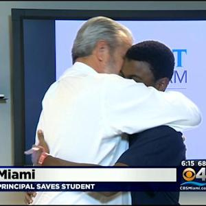 High School Principal Saves Student's Life