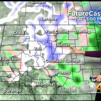 Tuesday's Forecast: Quick Winter Weather Blast Rolling Through