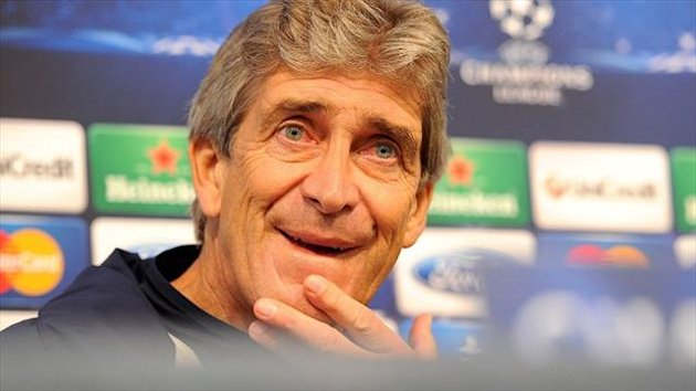Pep Guardiola is a big fan of Manchester City manager Manuel Pellegrini, pictured