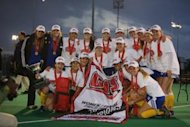 CIS Women's Field Hockey Champion UBC Thunderbirds (Armando Tura Photo)