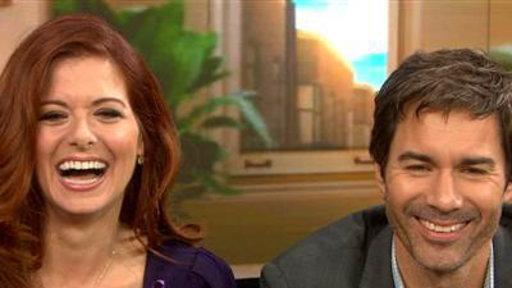 'Will & Grace' Stars 'Knew We'd Be Together a Long Time'
