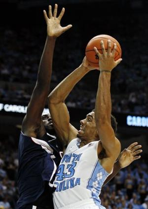 No. 11 Tar Heels beat Florida Atlantic 80-56