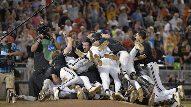 Vandy beats Virginia 3-2 for 1st national title