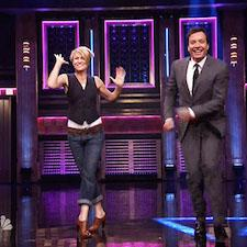 Robin Wright and Jimmy Fallon's Hilarious Game