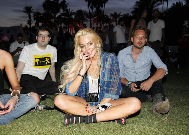 Lindsay Lohan Coachella