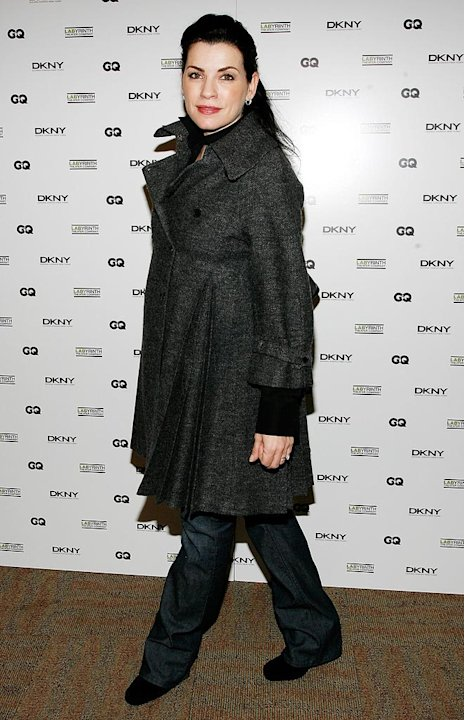 Julianna Margulies arrives at the 5th Annual LAByrinth Theater Company Celebrity Charades.
