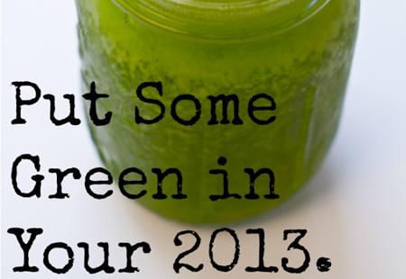 #1: Green Smoothies
