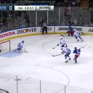Ben Bishop Save on Derek Stepan (07:10/1st)