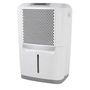 Users like that this Frigidaire dehumidifier is easy to use and effective.