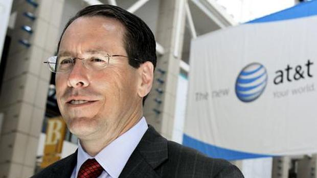 AT&T CEO says Sprint/T-Mobile merger isn't happening