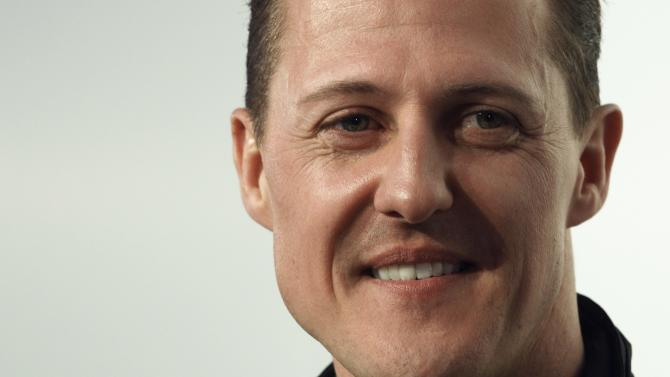 Mercedes Formula One driver Schumacher of Germany attends a news conference in Munich, file