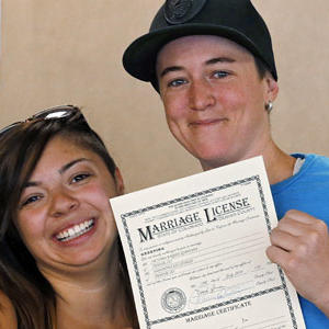 Denver Gay Couple First to Get Marriage License