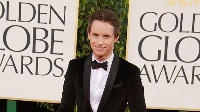 70th Annual Golden Globe Awards - Arrivals: Eddie Redmayne