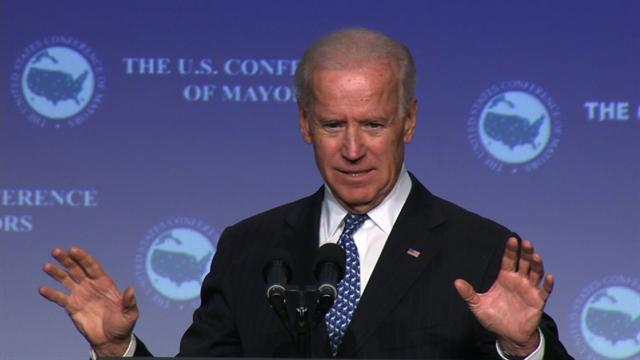 "Biden: ""Overwhelming consensus"" on gun control"