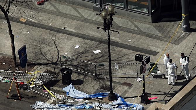 Boston Deals With Aftermath Of Marathon Explosions