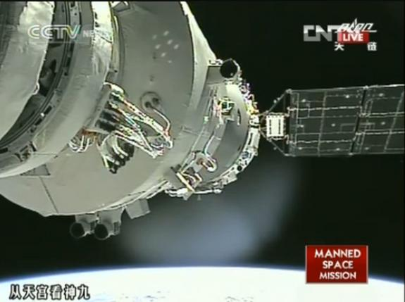 Chinese Astronauts Undock from Orbiting Module Ahead of Thursday Landing