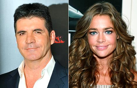 "Simon Cowell: I Had a ""Bizarre"" Blind Date With Denise Richards"