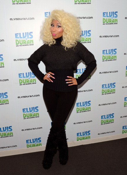 Nicki Minaj Visits Elvis Duran …