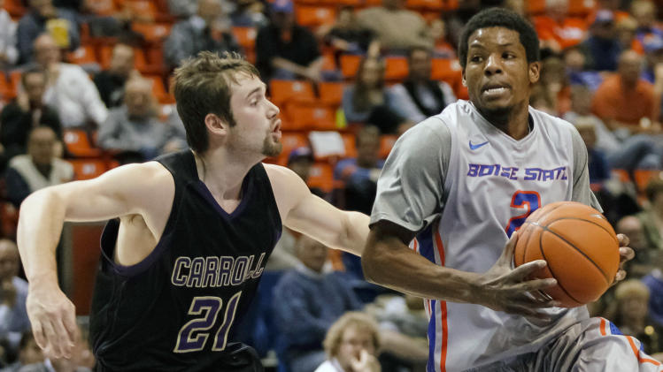 Boise State cruises past Carroll College 80-52