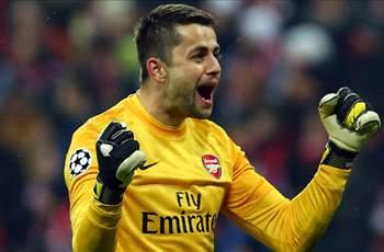 Fabianski a 'major doubt' for Arsenal's clash against Everton