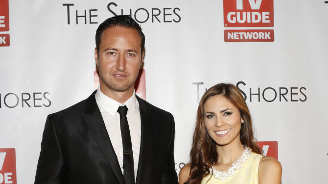 Executive Producer Quinton Van Der Burgh and Destiny Moniz attend The Shores Premiere Party at Dim Mak studios on Sunday, Oct. 7, 2012, in Los Angeles. (Photo by Todd Williamson/Invision/AP)