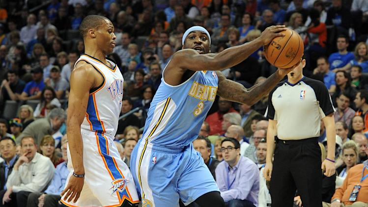 NBA: Denver Nuggets at Oklahoma City Thunder
