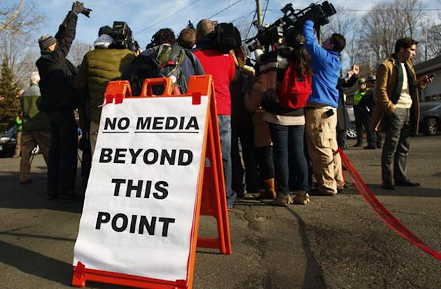 Newtown residents ready to step out of media glare