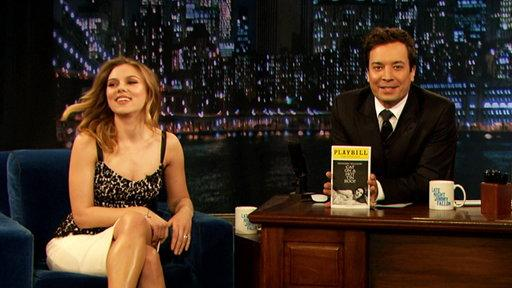 Scarlett Johannson On Her Broadway Play