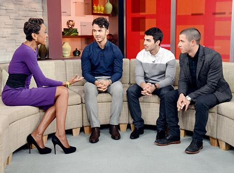 "Jonas Brothers Explain Breakup on Good Morning America: ""We Were Butting Heads"""