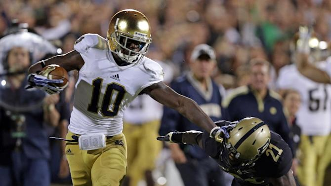 Notre Dame's Daniels becoming a difference-maker