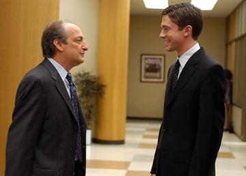 David Paymer and Topher Grace in Universal Pictures' In Good Company