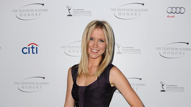 """Jessy Schram arrives at the Academy of Television Arts & Sciences Presents """"The 6th Annual Television Honors"""" at the Beverly Hills Hotel on Thursday, May 9, 2013 in Beverly Hills, Calif. (Photo by Scott Kirkland/Invision for Academy of Television Arts & Sciences/AP Images)"""