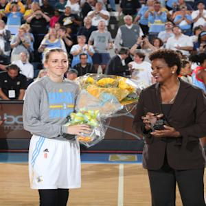 WNBA SIXTH WOMAN OF THE YEAR presented by Samsung: Allie Quigley