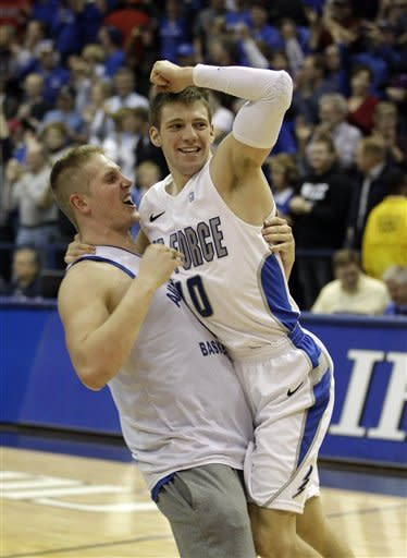 Air Force beats No. 22 San Diego State 70-67