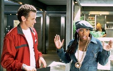 David Moscow and Missy Elliott in Universal's Honey