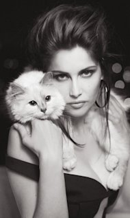 Fashion's Gone Pet-Crazy: Karl Lagerfeld's Cat Choupette Strikes Again With A Photoshoot In V Magazine