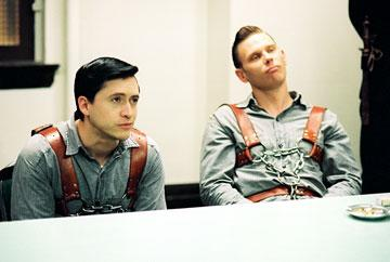 Clifton Collins Jr. as Perry Smith and Mark Pellegrino as Richard Hickock in Sony Pictures Classics' Capote
